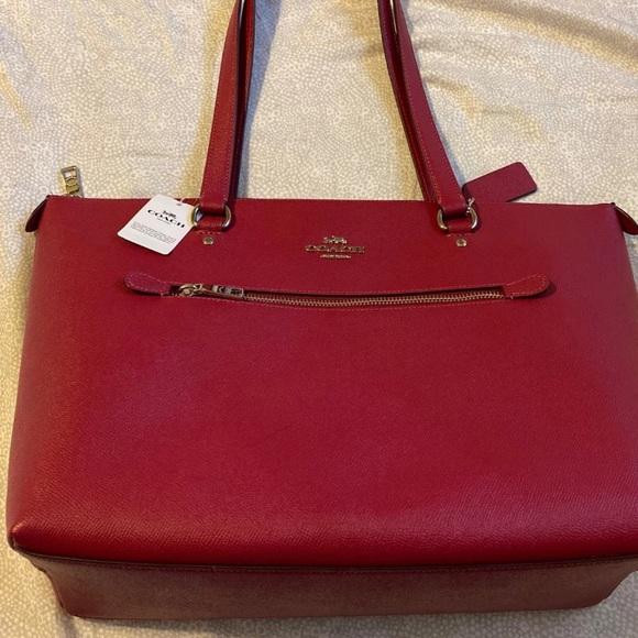 Coach Handbags - Coach Zippered Shoulder Bag NWT